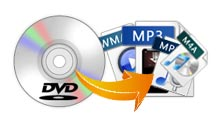 Rip DVD Soundtracks to Audio Formats