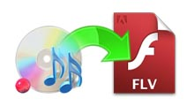 Convert Audios to Audio-only FLV