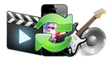 Convert/Transfer Videos and Audios to iPhone