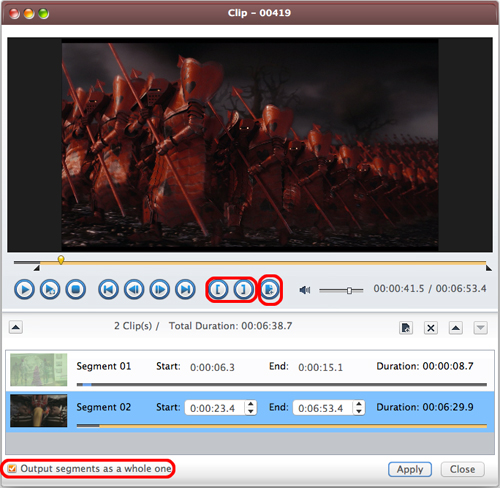 AVCWare Blu Ray Ripper for Mac Guide - Clip video